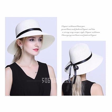 ERLINGSAN-MZ Sombreros De La Mujer De Verano Sombrero De Crianza Sombrero  del Niño Gorra De Playa Sombrero De Pescador  Amazon.es  Deportes y aire  libre 7403c116273