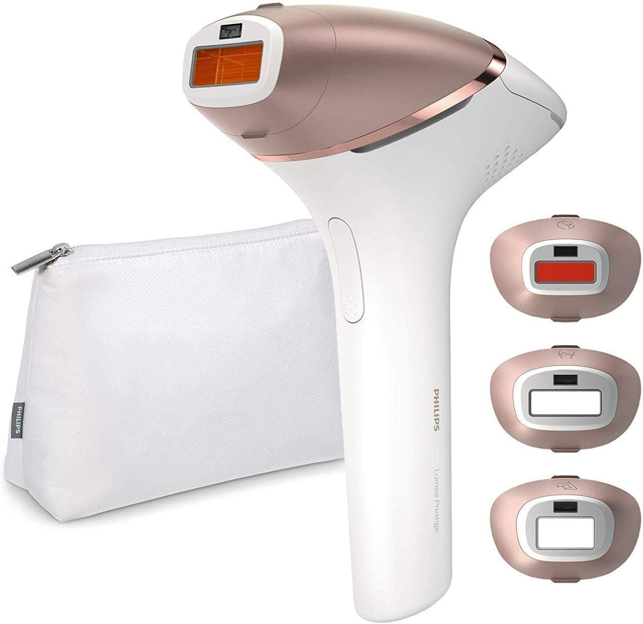 Philips Lumea Ipl Cordless Hair Removal 9000 Series With 4 Attachments For Body Face Bikini And Underarms And Senseiq Technology Bri957 00 Amazon Co Uk Health Personal Care