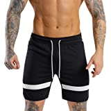 SUPOOH Sweatpants Sports Cropped Men's Casual Shorts Beach Pants Shorts Sports Running Hip Hop Trousers Casual Pant