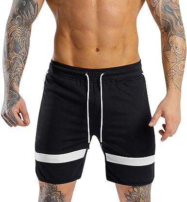 Men's Bermuda Beach Shorts Elasticated Waist Boy/'s Cropped Half Pant Over Knee