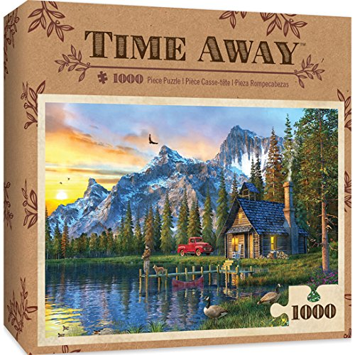 MasterPieces Time Away 1000 Puzzles Collection – Living the Dream 1000 Piece Jigsaw Puzzle