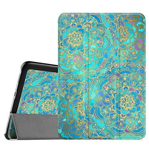 Fintie Samsung Galaxy Tab S2 8.0 Case - Ultra Lightweight Protective Slim Shell Stand Cover with Auto Sleep/Wake Feature for Samsung Galaxy Tab S2 / S2 Nook 8.0 Inch Tablet, Shades of Blue