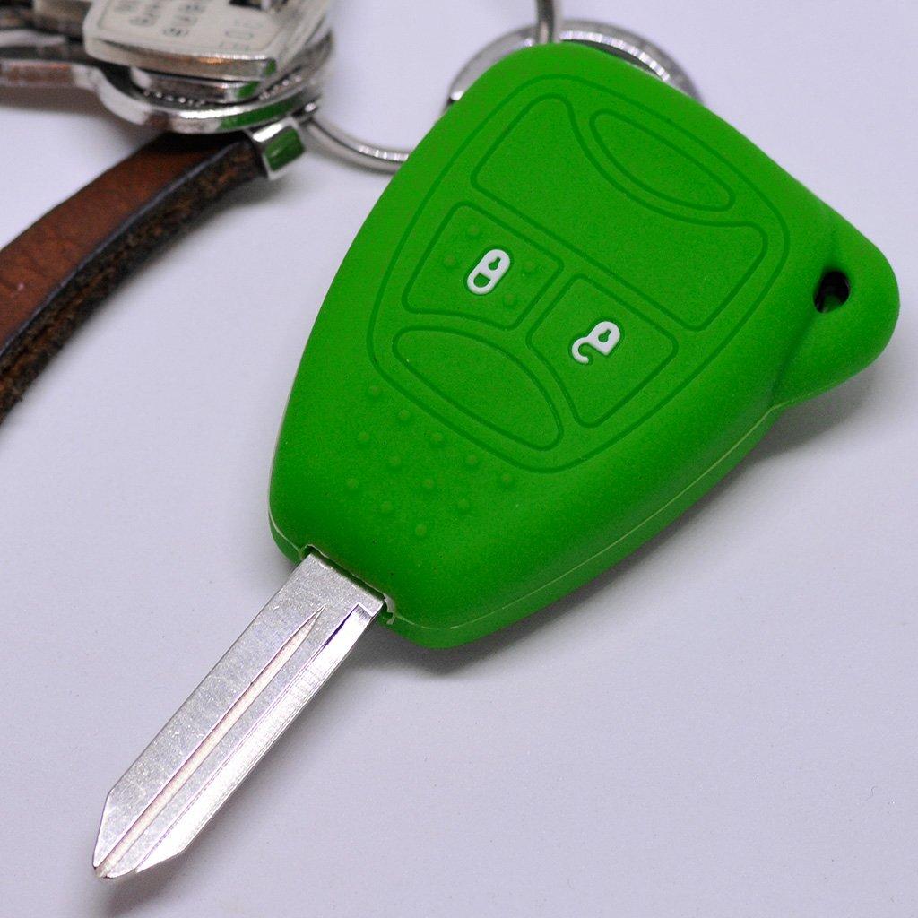Autoschlüssel 3 Tasten Klappschlüssel Gehäuse für Chrysler Dodge Nitro Jeep