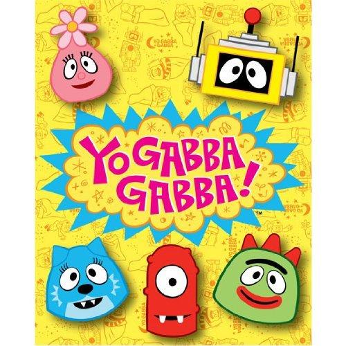 Yo Gabba Gabba Children's Throw Blanket Kids THe Northwest Company SYNCHKG019473