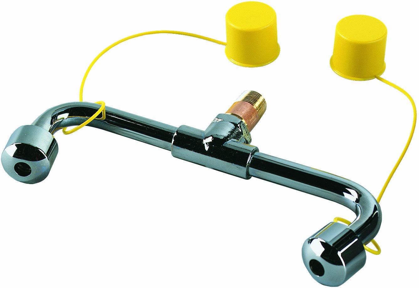 Bradley S39-394 Eyewash Spray Head Assembly with Supply Stem Bradley Fixtures Corporation