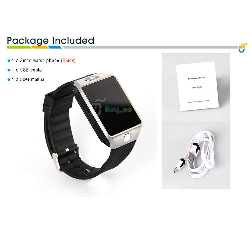 Buyee® DZ09 Smartwatch Heartrate Test Bluetooth Smart Watch ...