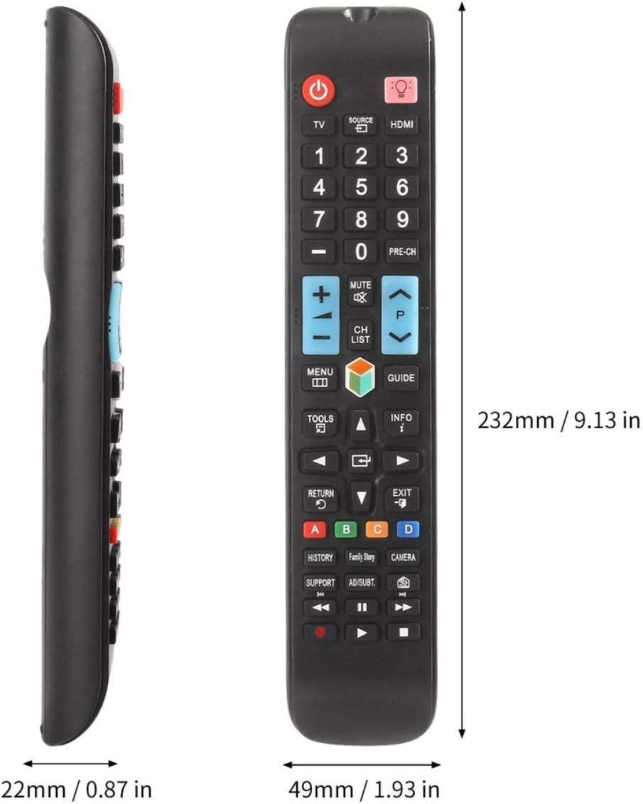 lofenlli Mando a Distancia Universal para Reemplazo de Accesorio de televisión Samsung Smart TV AA59 – 00638 A con Botones de retroiluminación 3D: Amazon.es: Electrónica