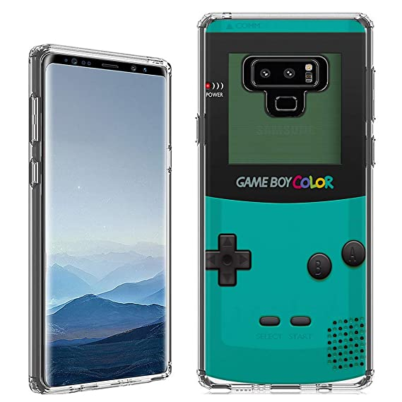 Amazon.com: Galaxy Note 9 Case [Gameboy Mint](Clear ...