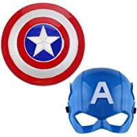 """Marvel Legends """" Captain America Cosplay """" Mask with Lightning Shield for Costume Parties, cosplays and Dress ups"""