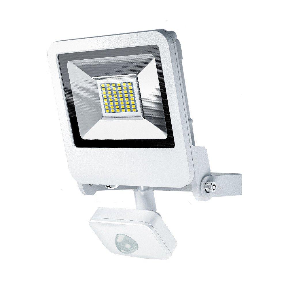Osram LED Endura Flood Sensor Fluter, für Außenanwendungen, Warmweiß, integrierter Tageslicht- und Bewegungssensor