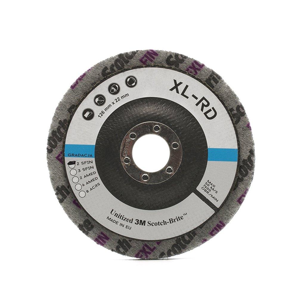 MaxiDetail AD9210 Scotch-Brite Disc XL-RD 2SFIN / 125mm / 3M Scotch Brite