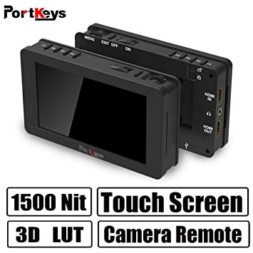 PortKeys LH5HDR 5 Inch 1920x1080 Camera Field Monitor: Amazon co uk
