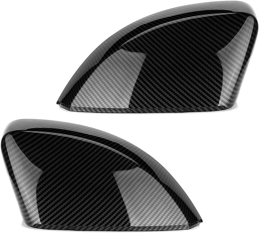 ABS Silver 2pcs Chrome Plated Side Rearview Mirror Cover Trim ,for Peugeot 2008 208 2013 2014 2015 2016 2017 2017