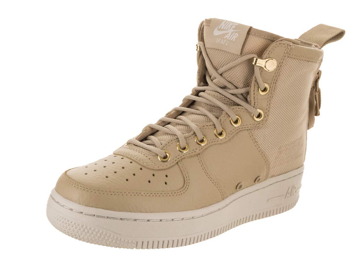 sale retailer 7eda4 3596c Galleon - Nike SF Air Force 1 MID Womens Shoes Mushroom Light Bone  Champignon Aa3966-200 (9 B(M) US)