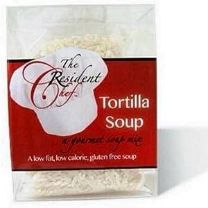 The Resident Chef *Tortilla Soup* Gourmet Gluten Free, Low Fat, Low Calorie Soup Mix
