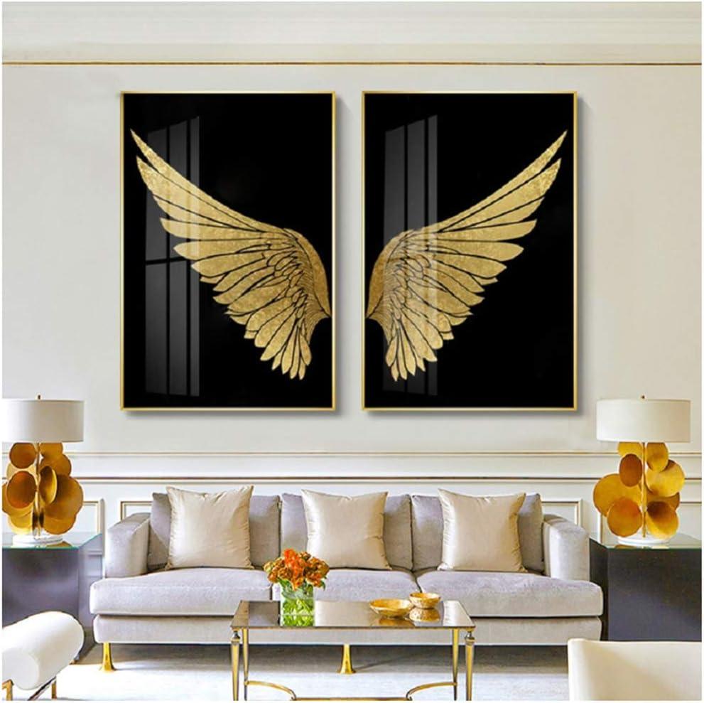 Imprima en lienzo Arte abstracto moderno de la pared Pintura en lienzo Galería de imágenes Carteles e impresiones para la decoración interior de la sala de estar 23.6
