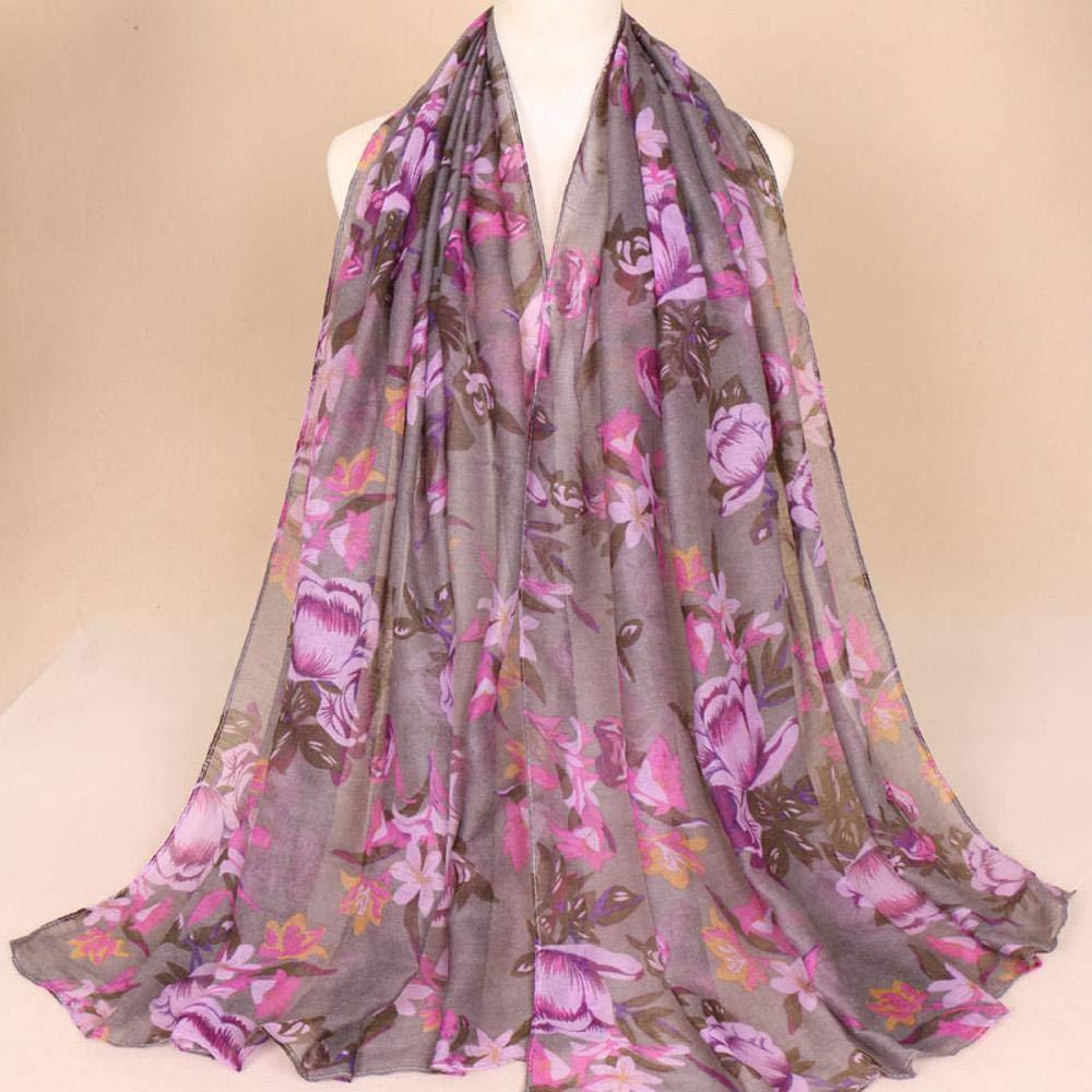 Lnyy Lnyy Lnyy Balinés de impresión Bufanda Hilo algodón Bufanda Fina Transpirable Baotou Multi-Uso Bufanda tamaño de impresión (CM): 180  80 68a36d