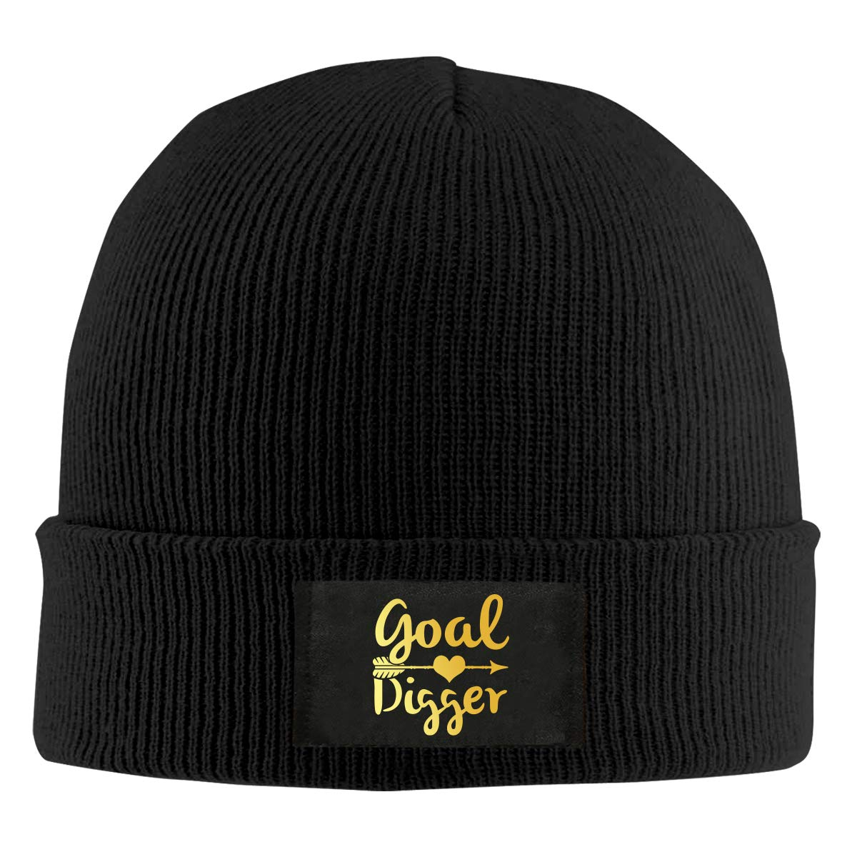 Goal Digger Women and Men Knitted Hat Winter Warm Skull Cap