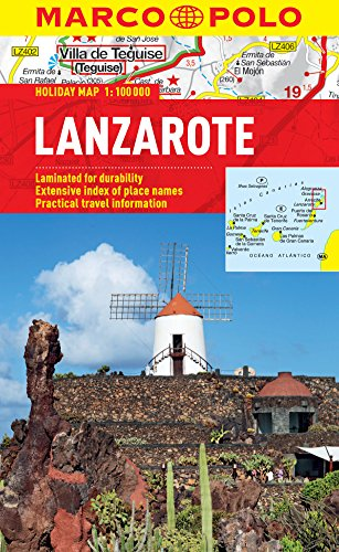 Lanzarote Marco Polo Holiday Map (Marco Polo Holiday Maps)