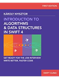 Amazon algorithms programming books data structures introduction to algorithms and data structures in swift 4 get ready for programming job interviews fandeluxe Gallery
