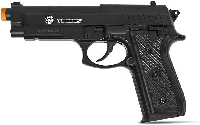 negro Taurus PT92 CO2 airsoft pistola joule 1 210308