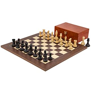 The Regency Chess Company Ltd Windsor Ebano E montgoy Palissandro Set di Scacchi