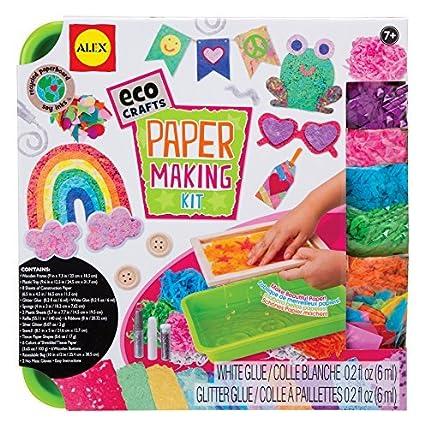 ALEX Toys Eco Crafts Paper Making Kit by Alex: Amazon.es: Juguetes ...
