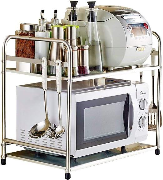 Yuda Estantería para horno microondas, fabricada con acero ...