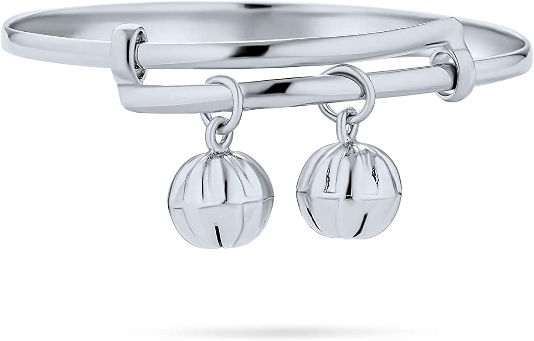 Sweet Silver Bells Bracelet 16 petite bells for smaller wrists 6-7