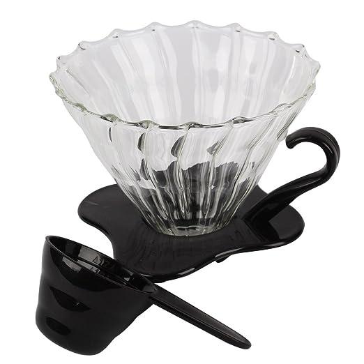 Ocathnon vdg-02b V60 cristal cafetera goteo Clever Filtro de ...