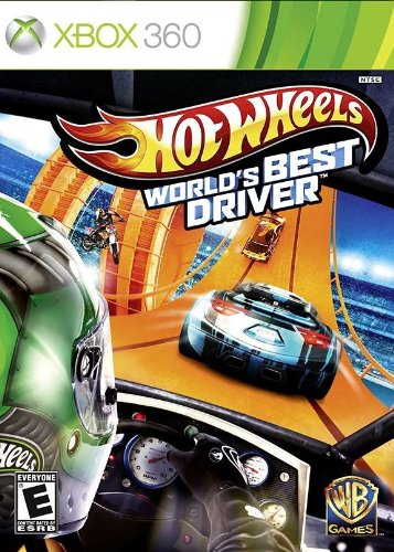 Hot Wheels World's Best Driver - Xbox 360 Standard Edition (Best Xbox 369 Games)