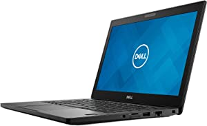 "Dell Latitude 7290 12.5"" HD Premium Business Laptop, Intel Core i5-7300U, 256GB SSD/16GB DDR4, Windows 10 Pro (Renewed)"
