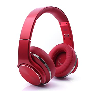 iprotect Auriculares Bluetooth Cascos over ear inalámbricos con micrófono integrado para dispositivos Android e iOS: Amazon.es: Electrónica