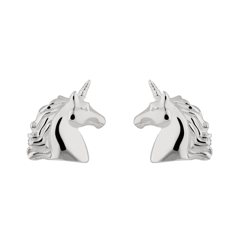 694471416 Sterling Silver Unicorn Stud Earrings by Lily Charmed: Amazon.co.uk:  Jewellery