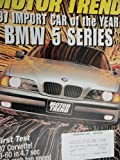 1997 BMW 528i / BMW 540i / Chevy Chevrolet Corvette / Chevy Venture / Dodge Grand Caravan / Audi A4 1.8 Turbo Road Test