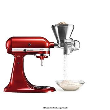 Kitchenaid KGM - Accesorio Kitchen Aid 5Kgm Molinillo De Cereales Para Robots De Cocina: Amazon.es: Hogar