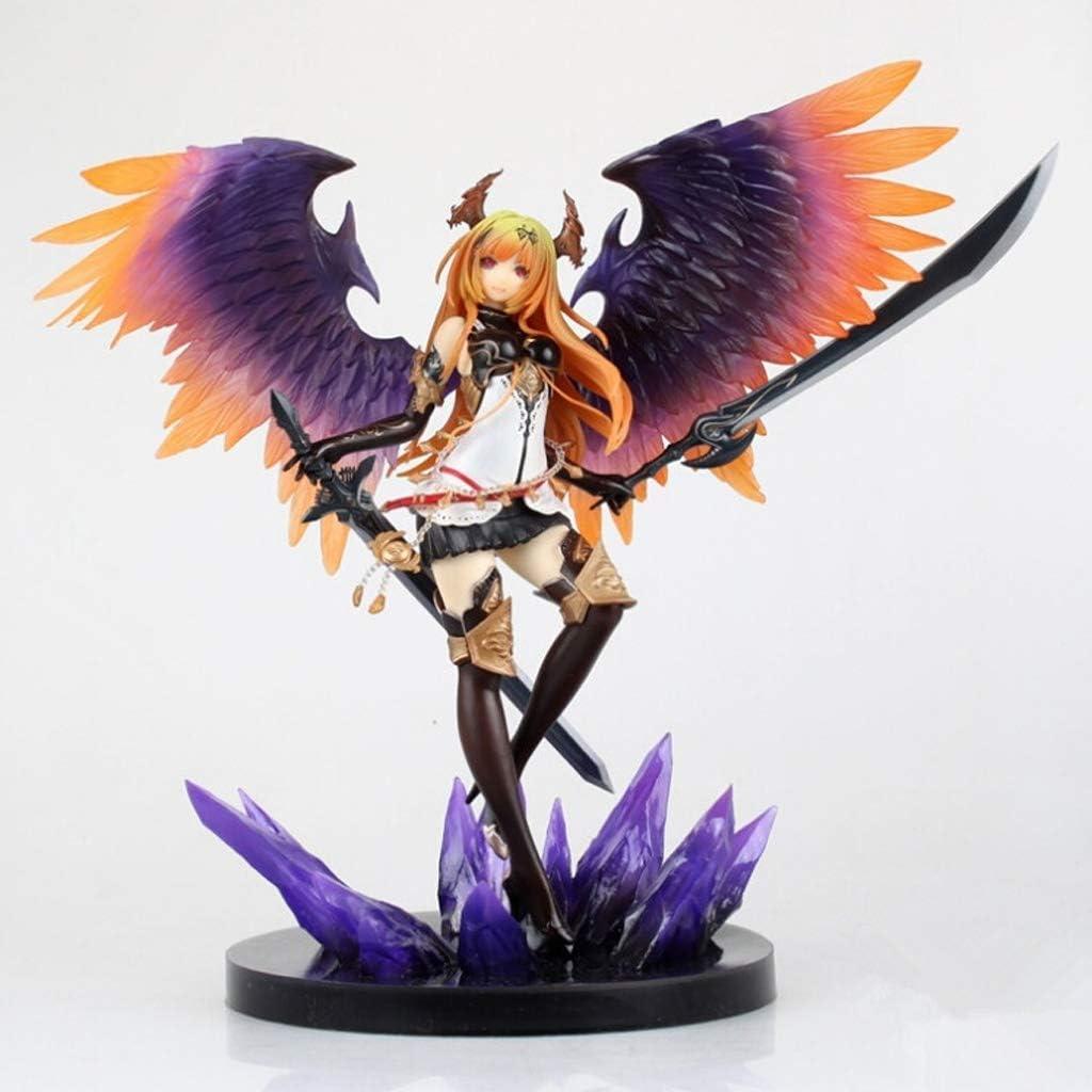 LQZYTY Dark Angel Juguetes Modelo Universal for Hombres y Mujeres del ángel de animación Colección Juguetes