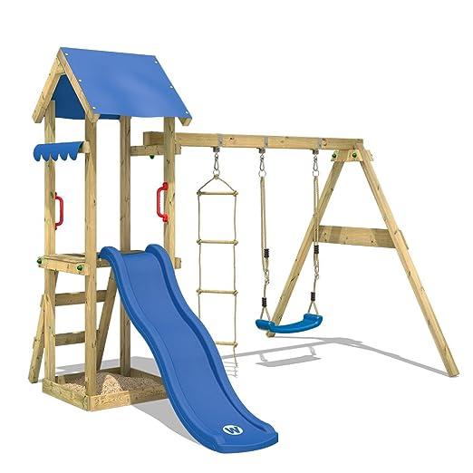 Wickey Spielturm Tinycabin Kletterturm Spielplatz Mit Schaukel Und