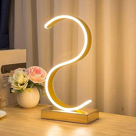 S LED Sharp lámpara de escritorio, lámpara de mesa con un diseño ...
