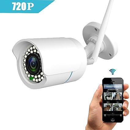 huayuu Cámara IP Indoor/Outdoor HD 1080P Infrarrojos para Exterior Resistente al Agua WiFi cámara