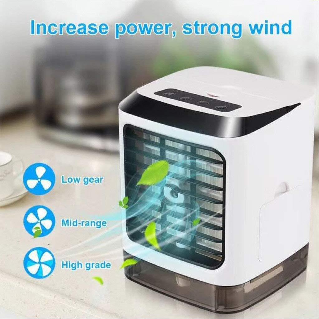 brumisateur mini ventilateur USB personnel et portable l/'ext/érieur Rafra/îchisseur d/'air par /évaporation climatiseur humidificateur et purificateur d/'air pour la maison le bureau