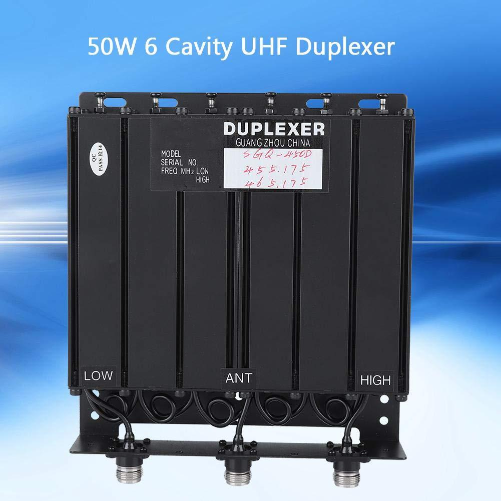 Amazon com: Pomya UHF Duplexer 50W 6 Cavity Duplexer UHF