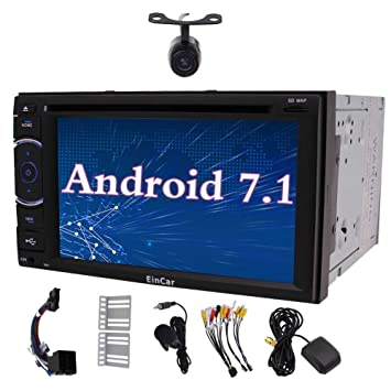Eincar Android 7.1 Doble DIN en el Tablero del veh¨ªculo del Coche Sistema de