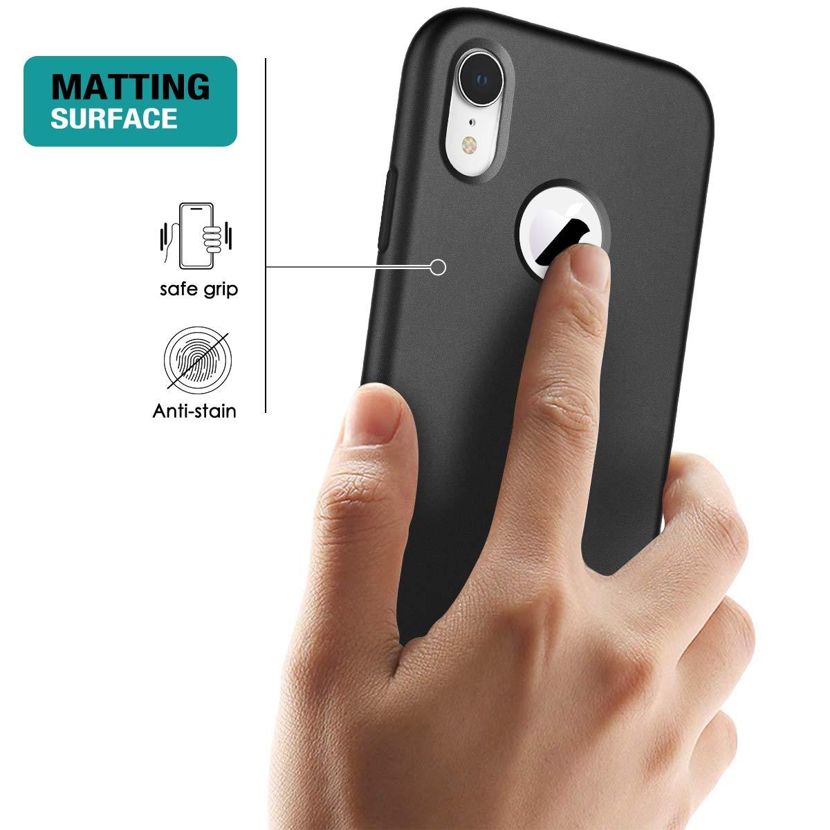 SURITCH Funda para iPhone XR 360 Grados Full Body de Protecci/ón Silicona TPU con Protector de Pantalla Incorporado Carcasa Anti-Ara/ñazos Cover para iPhone XR Unicornio