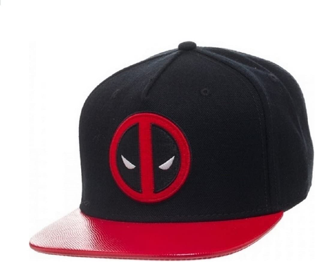 Marvel Deadpool Logo Snapback Gorra De Béisbol: Amazon.es ...