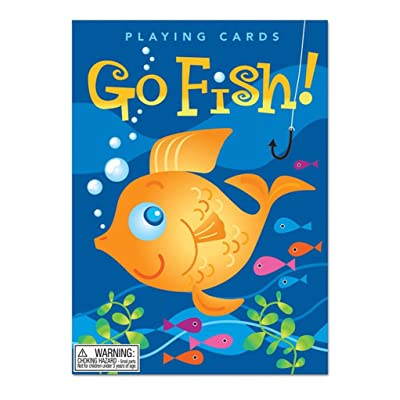 eeBoo Color Go Fish Card Game for Kids: Toys & Games