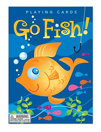 Amazon.com: eeBoo Color Go Fish Playing Cards Game: Toys & Games