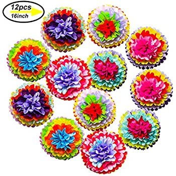Cinco De Mayo Decorations Fiesta Tissue Pom Paper