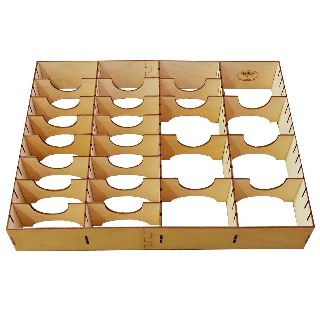 The Broken Token Horizontal Card Organizer for Wooden Artist Case