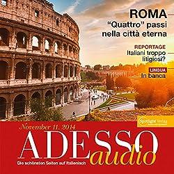 ADESSO Audio - In banca. 11/2014: Italienisch lernen Audio - Auf der Bank
